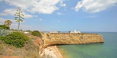 Nossa Senhora da Rocha beach