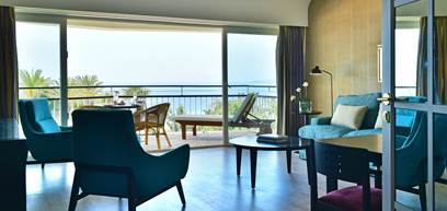 Suite Luxo, Vista Mar