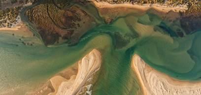 Cacela Velha Aerial View