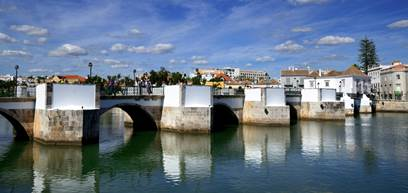 View of Tavira City