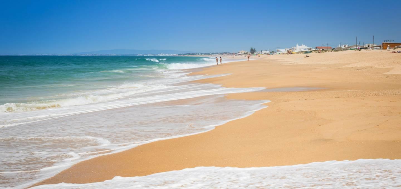 Beach in Faro