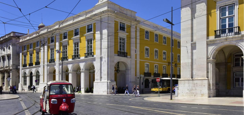 Hotel no Terreiro do Paço em Lisboa