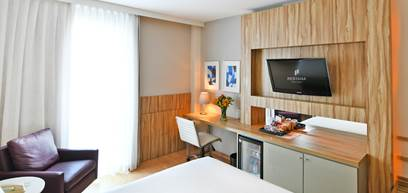 Double room side view