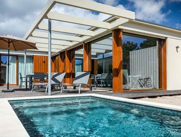 Aqua Villa mit eigenem Pool