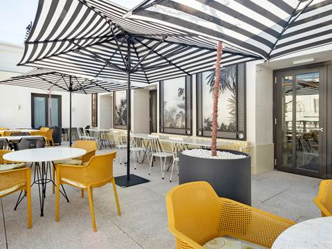Pestana CR7 Gran Vía Rooftop Bar